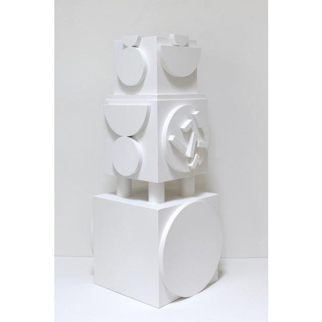 Angela Chrusciaki Blehm Column No. 2 by Angela Chrusciaki Blehm For Sale - Image 4 of 6