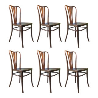 Vintage Dining Chairs by Thonet, 1930s - Set of 6