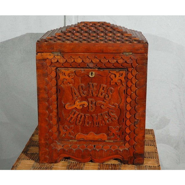 American Folk Art Compendium / Chest For Sale - Image 9 of 9