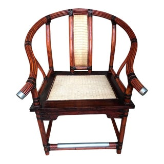 Ming Arm Chair by Palacek For Sale