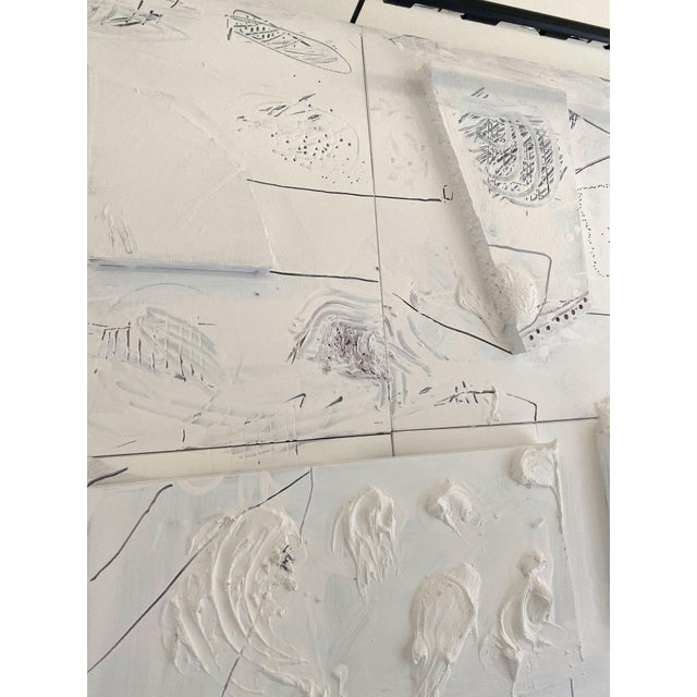 Monumental Contemporary Mixed Media Painting XIII by William McLure For Sale In Birmingham - Image 6 of 7