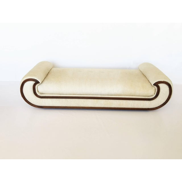 1970's Chaise Lounge or Daybed by Vivai del Sud, Italy For Sale In Dallas - Image 6 of 8