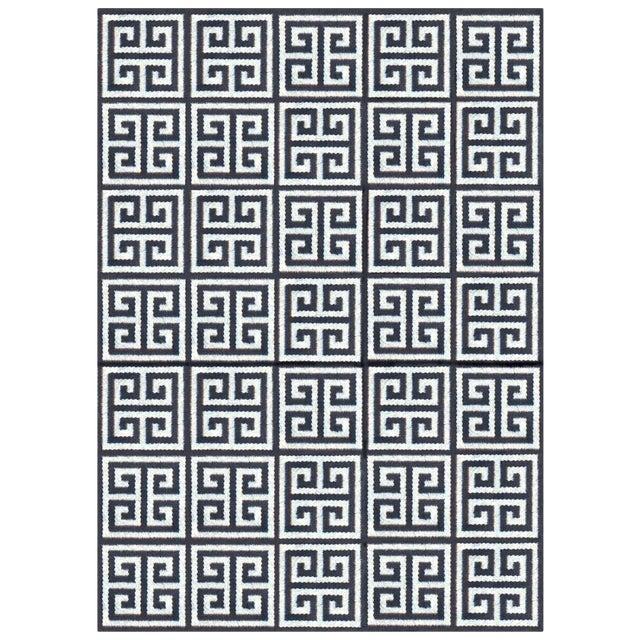 Jonathan Adler Black & White Rug - 4′ × 6′ For Sale