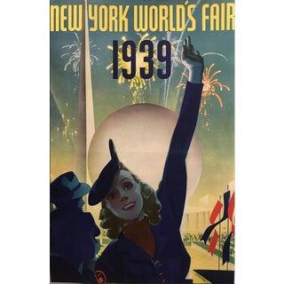 1939 Original Vintage American Poster, New York World's Fair