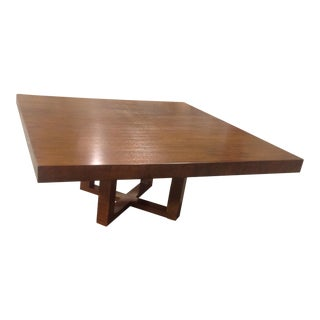 Modern Square Dining Table For Sale
