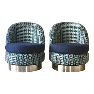 Talisman Swivel Chairs by Talisman Bespoke For Sale