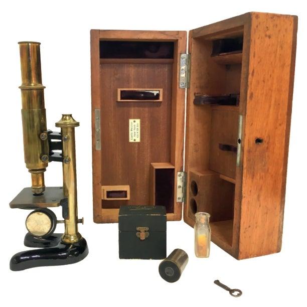 19th-C. Ernst Leitz Wetzlar Microscope - Image 1 of 11