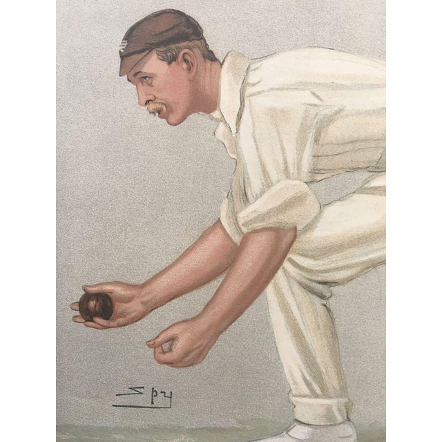 Digby Loder Jephson Vanity Fair Cricket Print - Image 3 of 5