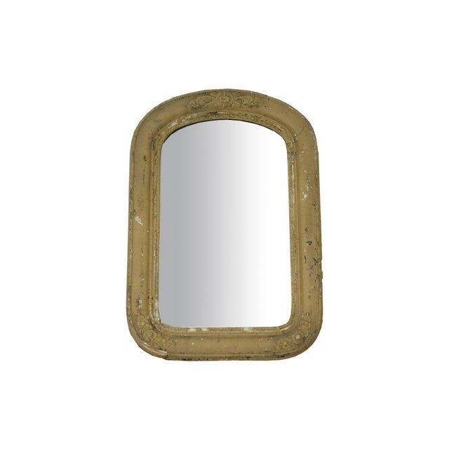 Antique Arched Accent Mirror - Image 4 of 4