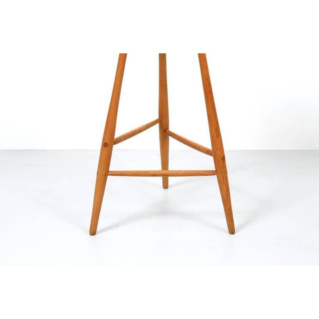 Cherry Wood Barstool by Horace B. Hartshaw For Sale - Image 7 of 11