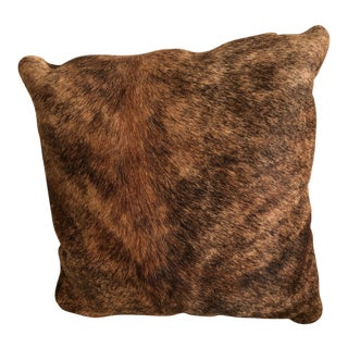 Brindle Cowhide Pillow For Sale