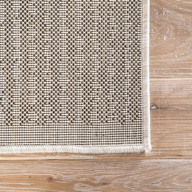 Contemporary Jaipur Living Cado Indoor/ Outdoor Striped Area Rug - 7′6″ × 9′6″ For Sale - Image 3 of 6