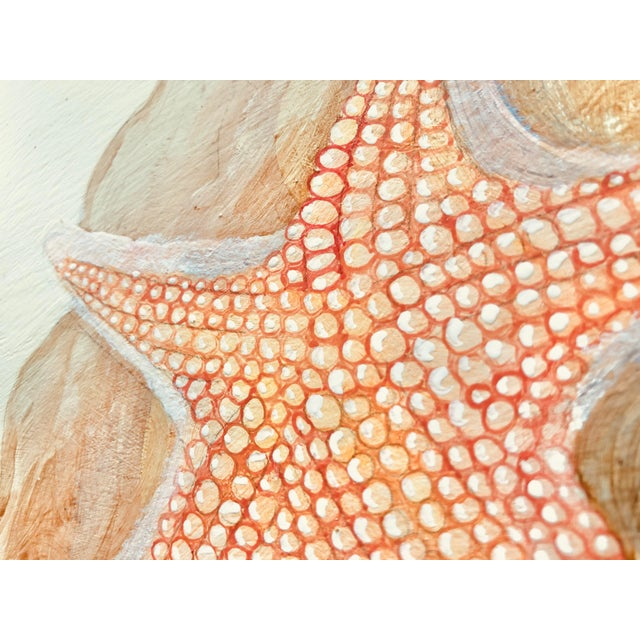 Allison Cosmos Contemporary Coral Reef Acrylic Triptych Painting by Allison Cosmos - Set of 3 For Sale - Image 4 of 11