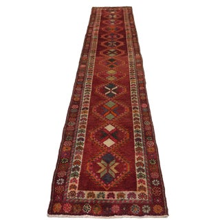 Vintage Herki Runner in Pink and Rust For Sale