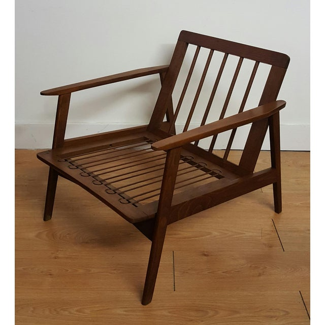 Adrian Pearsall Craft Associates Modern Lounge Chair - Image 6 of 6