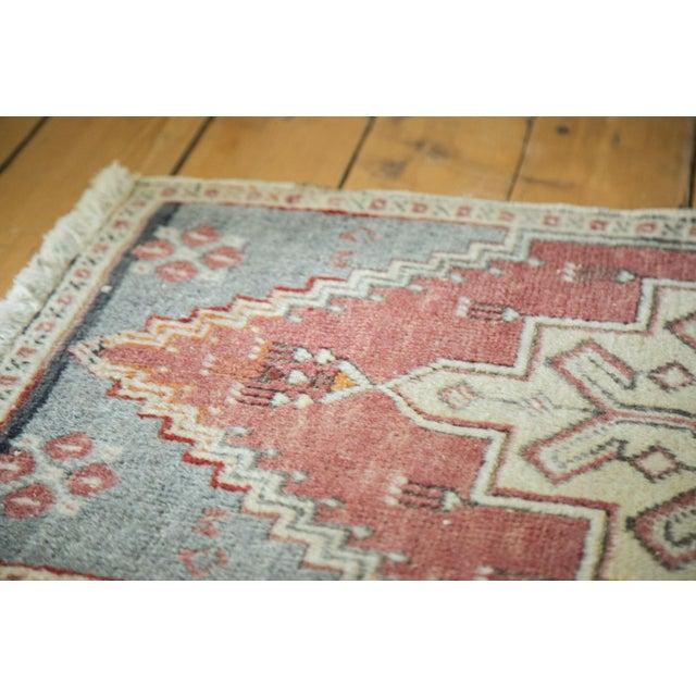 "Vintage Turkish Oushak Mat - 1'11"" x 3'1"" - Image 3 of 5"
