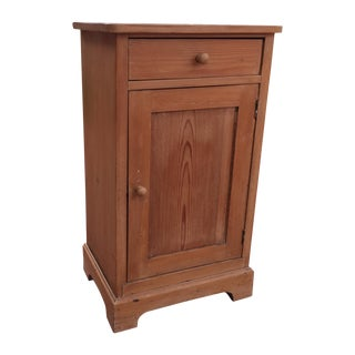 Primitive Pine Cabinet For Sale