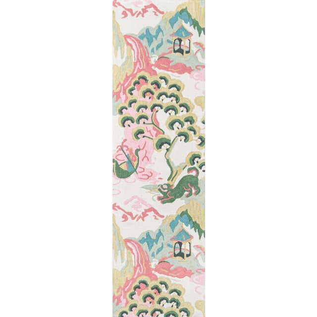 """Textile Madcap Cottage Embrace Ivory Area Rug 2'3"""" X 8' Runner For Sale - Image 7 of 7"""
