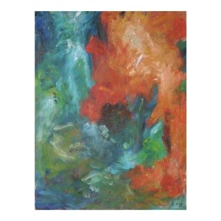 1963 Large Abstract Expressionist Painting