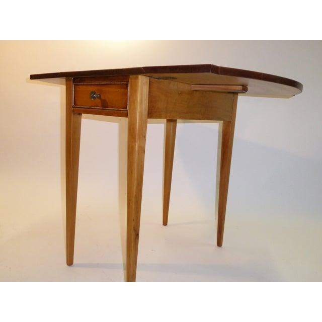1940s Georgian Pine Pembroke Table For Sale - Image 10 of 12