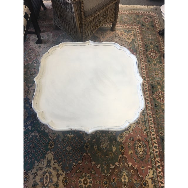 French White Coffee Table - Image 5 of 6