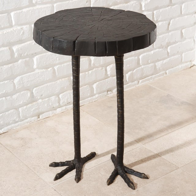 Iron Ostrich Side Table - Image 2 of 3