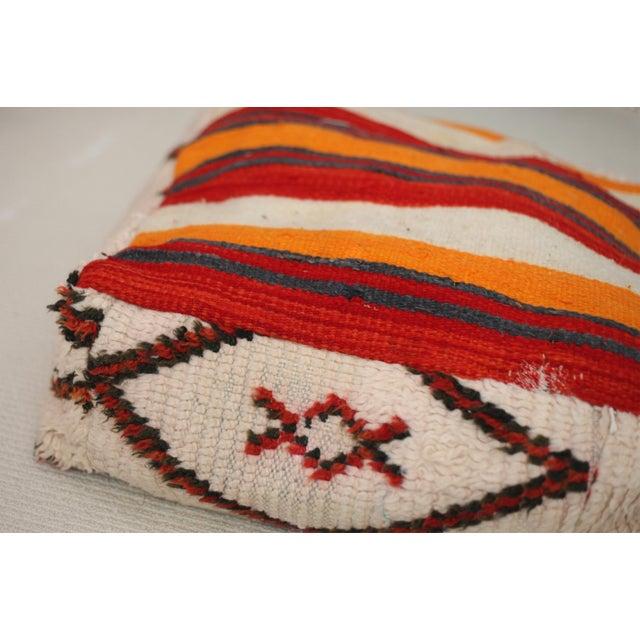 Vintage Moroccan Floor Pillow - Image 3 of 3