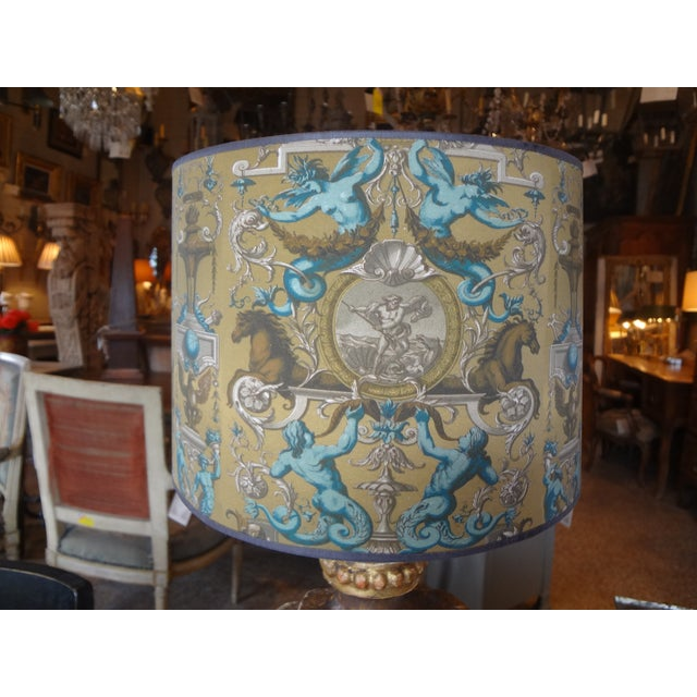 Italian 19th Century Single Lamp For Sale - Image 4 of 11