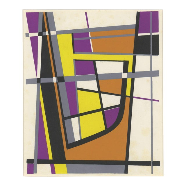 pl xix geometric forms print chairish