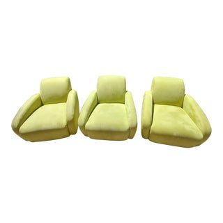 Contemporary Modern Lazar Industries Chairs - Set of 3 For Sale