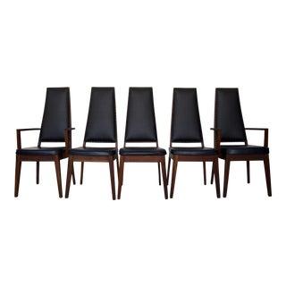 Mid-Century Modern Dining Chair - Set of 5