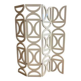 Bella Loco Europe French Modern Four Panel Wall Divider For Sale