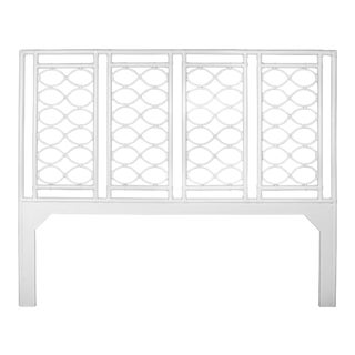 Infinity Headboard King - White For Sale