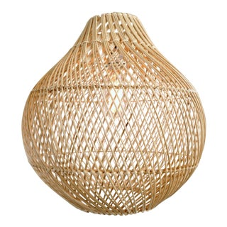 Natural Wicker Bawang Lantern Medium