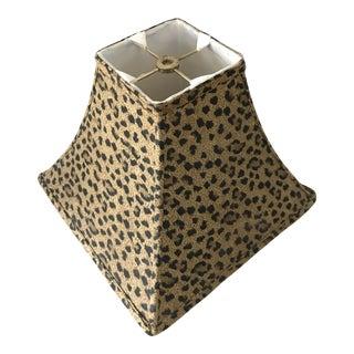 "Leopard Cheetah 12"" Bell Lamp Shade Pagoda For Sale"
