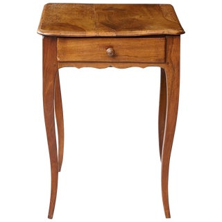 Petite Late 19th Century French Provincial Walnut Occasional Table For Sale