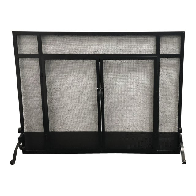 Plow & Hearth Fireplace Screen & Tools For Sale
