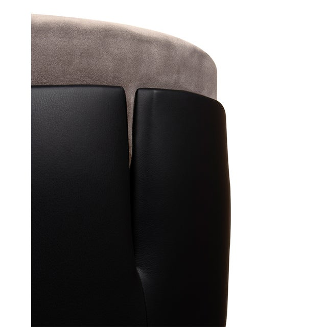 Covet Paris Modern Charla Bar Chair For Sale - Image 6 of 7