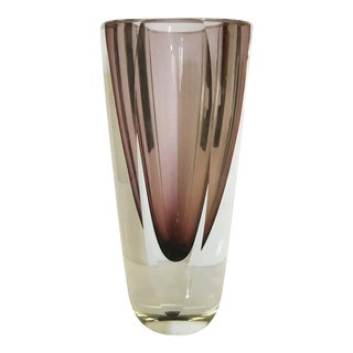 Amethyst Sommerso Vase by Mandruzzato For Sale