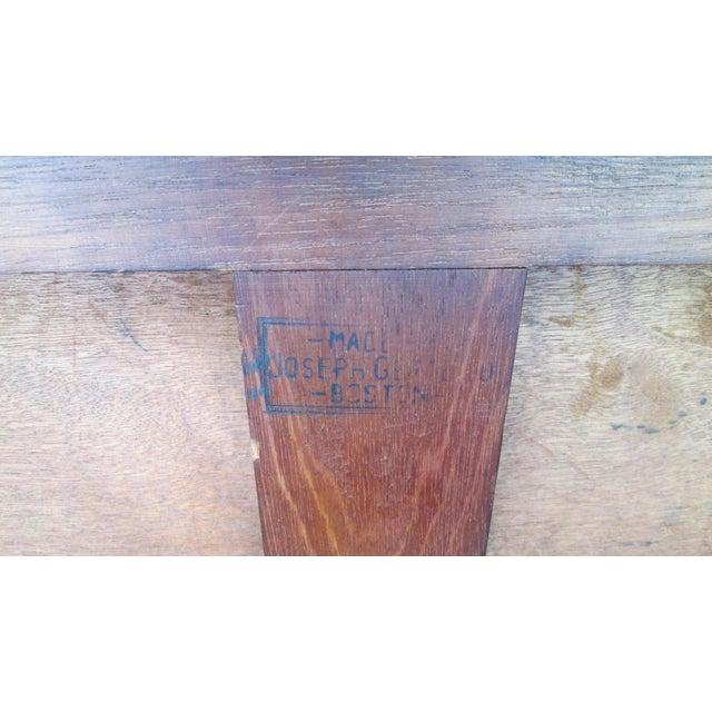 Joseph Gerte Rosewood Desk For Sale - Image 10 of 12