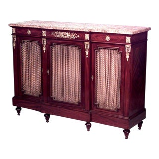 Louis XVI Style Sideboard Cabinet For Sale