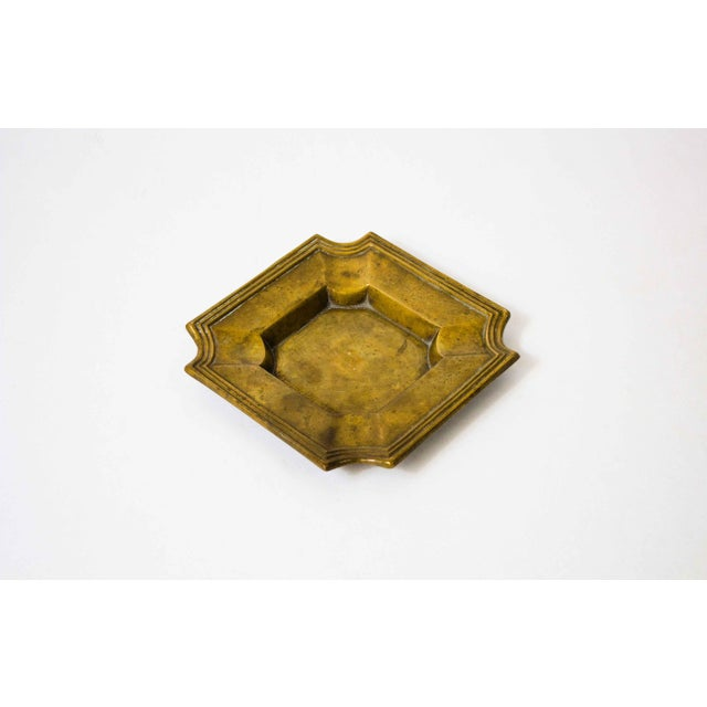 Early 20th Century 20th Century Art Deco Brass Catchall For Sale - Image 5 of 5