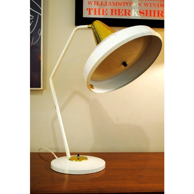 Mid Century Modern Desk Lamp by Swivelier-1950's For Sale - Image 13 of 13