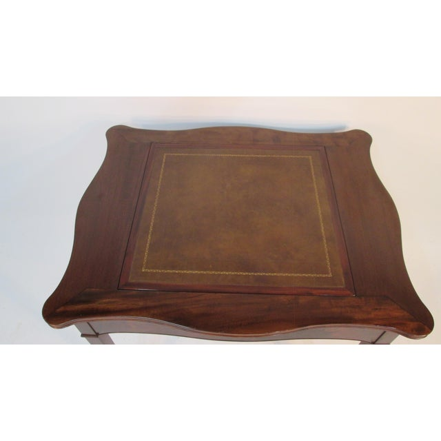 Traditional 1940s Beacon Hill Collection Game Table For Sale - Image 3 of 10