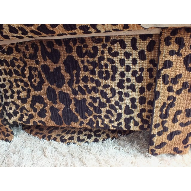 Vintage Leopard Swivel Club Chairs - Pair - Image 7 of 11
