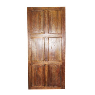 19th Century Antique Carved Wood Barn Door Preview