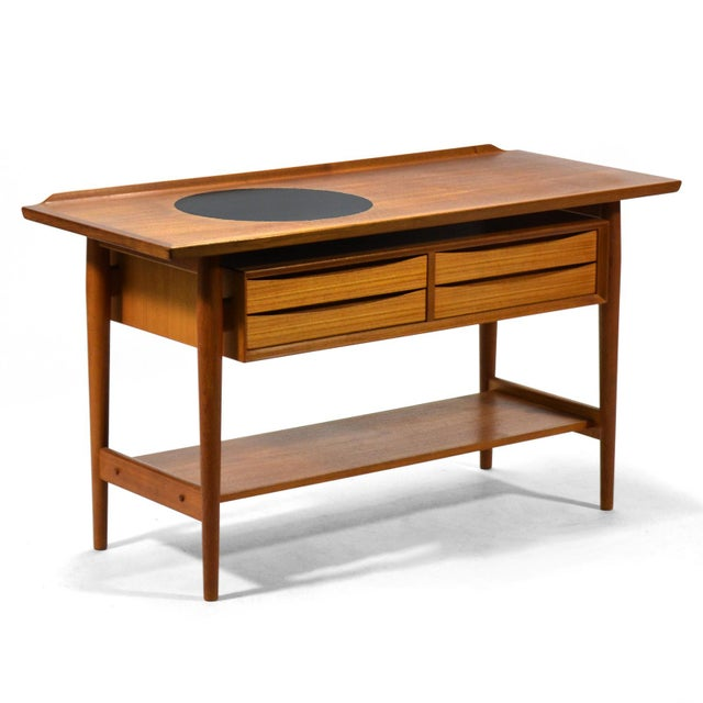 Arne Vodder Server / Console Table by Sibast For Sale - Image 10 of 11