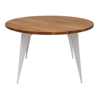 Original Danish Design Solid Oak Wood Coffee Table For Sale