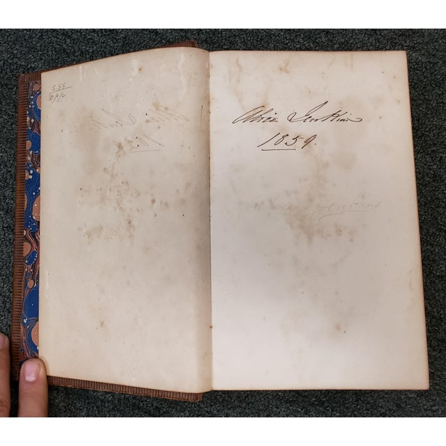 """Mid 19th Century """"The Poetical Works of John Dryden"""" Book by Rev. George Gilfillan (1857) For Sale - Image 5 of 10"""