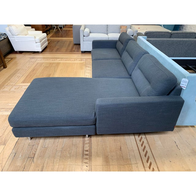 2010s Gus Modern Logan Bi-Sectional For Sale - Image 5 of 13